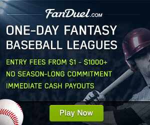 Fanduel Daily Fantasy Baseball Leagues