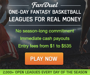 Fanduel Daily Fantasy Basketball Leagues