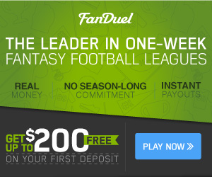 Fanduel Weekly Fantasy Football Leagues